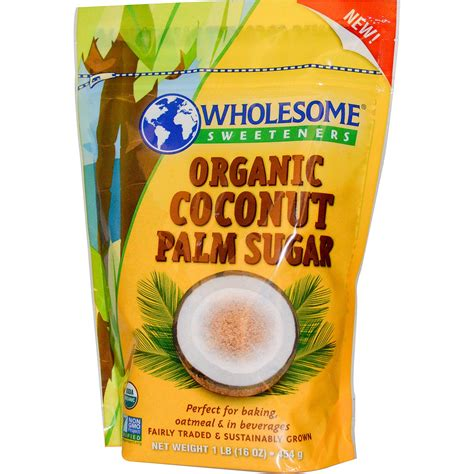 Coconut Sugar Organic by Wholesome Sweeteners Inc Organic Coconut Palm Sugar 16