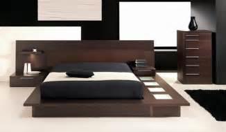 Bedroom furniture sets wooden furniture with dark color and black