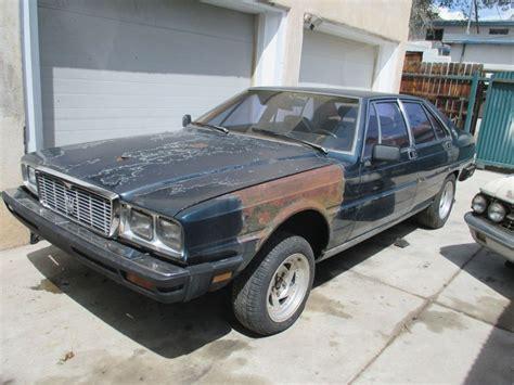1985 maserati quattroporte 1985 maserati quattroporte b y o e