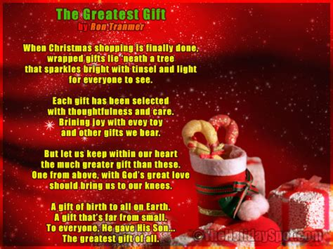 the best christmas gift poem poems poem poems about poem images