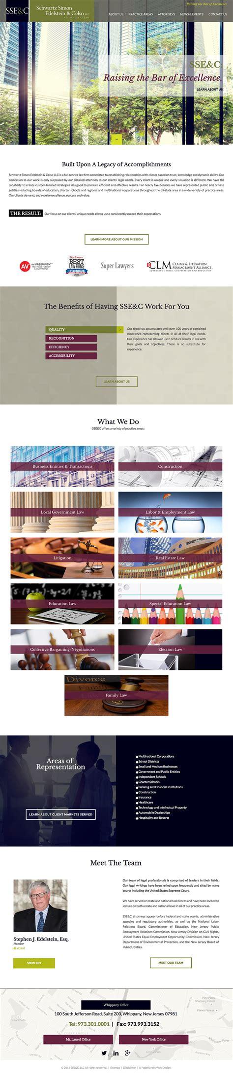 design inspiration websites 2016 law firm website design inspiration for 2016 paperstreet