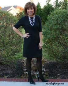 pantyhose vs black tights fashion over 40 grace
