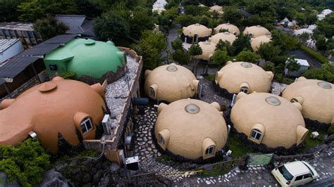 dome houses of japan made of earthquake resistant japan s quirky quake resistant dome houses prove a big