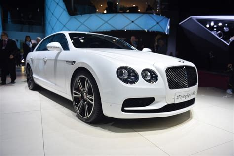 flying spur bentley 2016 geneva 2016 bentley flying spur v8 s gtspirit