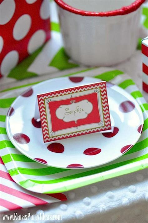 free printable christmas party decorations christmas holiday party via kara s party ideas www