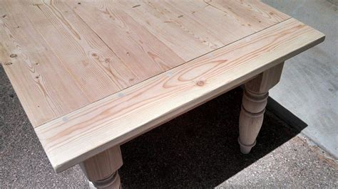 turned leg farmhouse table custom turned leg farmhouse table by safari