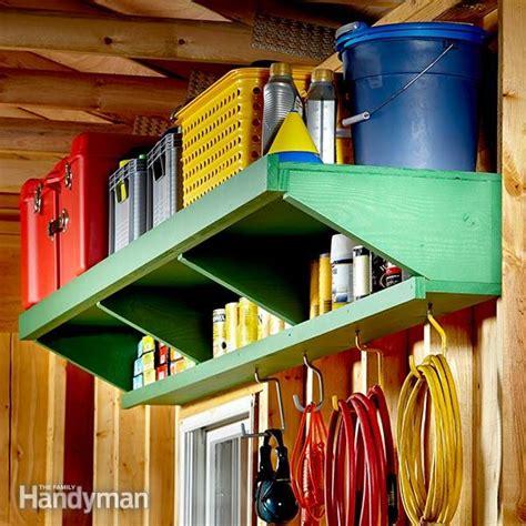 Family Handyman Bookcase Double Decker Garage Storage Shelves The Family Handyman