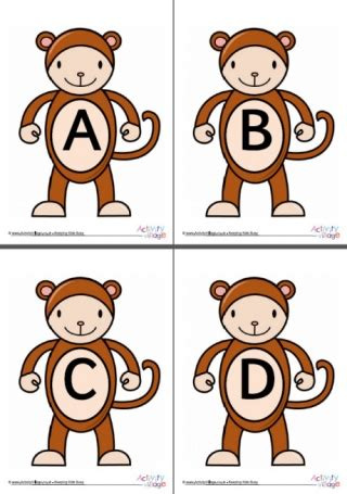 words of alphabet m mustaches and monkey free alphabet year of the monkey printables