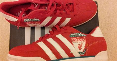 liverpool football shoes world s only liverpool fc adidas samba trainers listed on