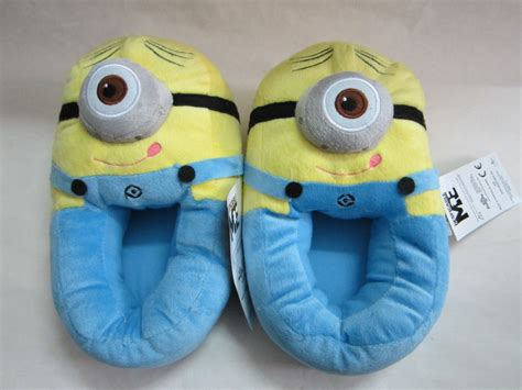 despicable me house slippers minion stuffed despicable me slippers women men s house home shoes collectible cuddly
