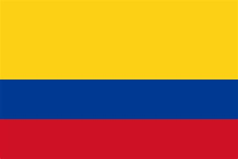 columbia colors flag of colombia
