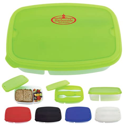 sectional lunch containers promotional 2 section lunch container customized 2
