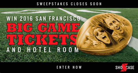 Win Super Bowl Tickets 2016 Sweepstakes - sweepstakes offer chances to win tickets to super bowl 50 american sweepstakes