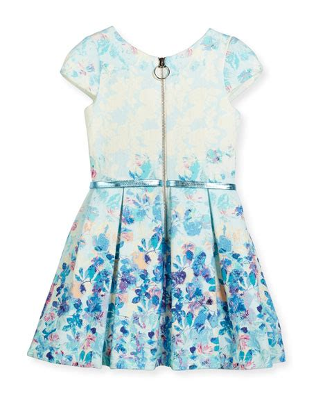 Dress Zoe Sleeve Flower Dress Hat zoe sky s the limit cap sleeve floral dress blue