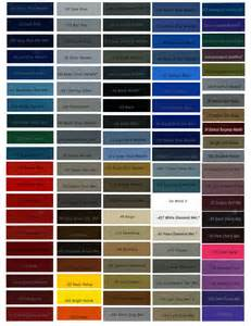 metallic car paint colors metallic automotive paint color chart images