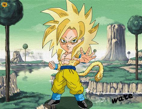 imagenes de goku en fase dios dragon ball z chibi goku fase dios by tutorialesware
