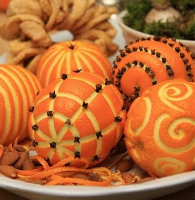christmas craft ideas fragrant christmas oranges make