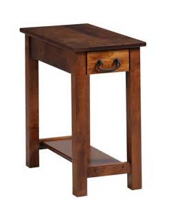 express chairside table ohio hardwood furniture