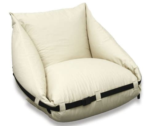 bed pillow chairs a pillow chair that unfolds into a bed neat ideas