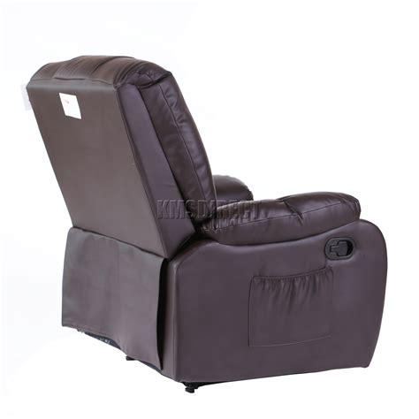 Cinema Recliner Sofa by Foxhunter Leather Cinema Recliner Sofa Chair