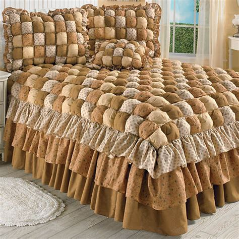 puff bedspreads puff quilt bedspread color out of stock figi s gallery