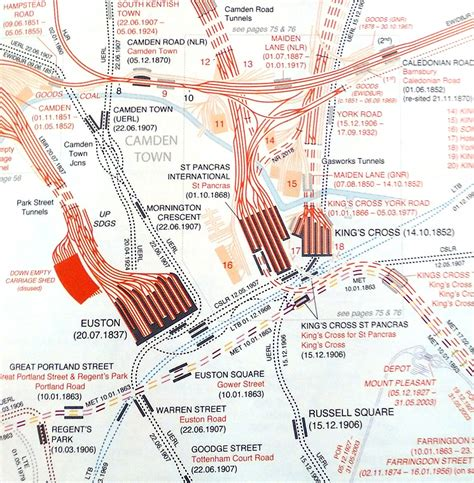 the railway atlas of london railway atlas 4th ed mapping london