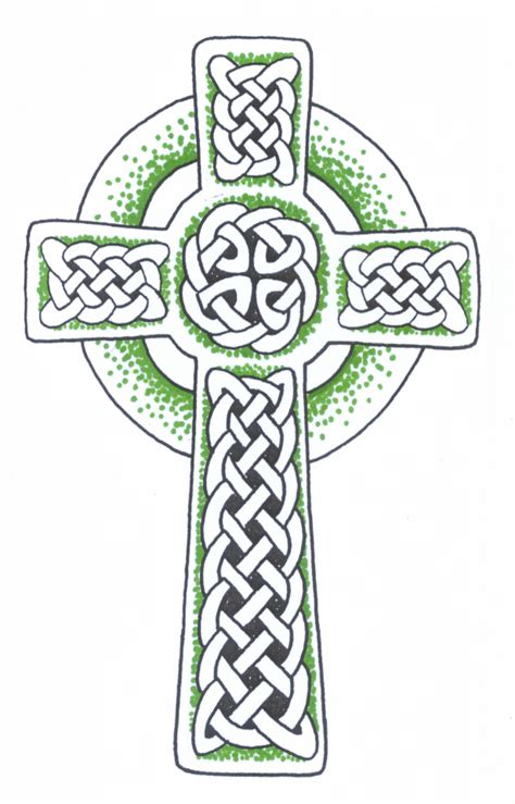 tribal celtic cross tattoo design real photo pictures