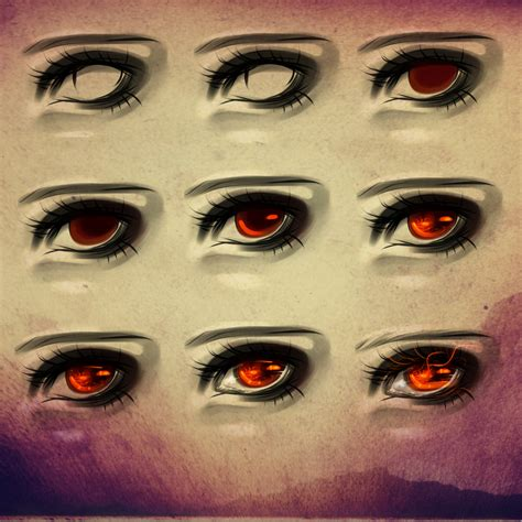 paint tool sai realistic eye tutorial eye process 6 by ryky on deviantart