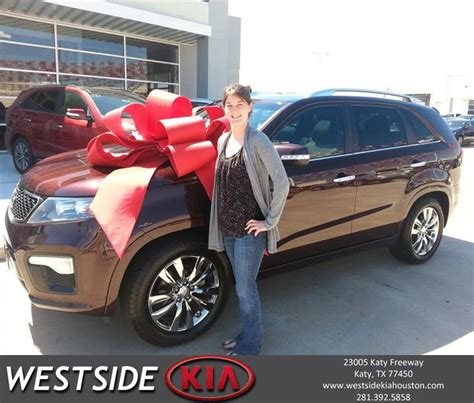 Kia Westside Thank You To Brown On Your New 2012 Kia Sorento F