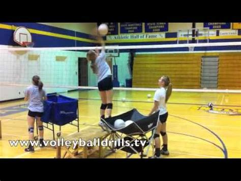 volleyball arm swing drills volleyball hitter drill box arm swings youtube