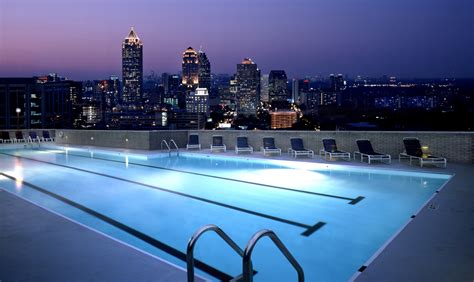 pool at night rooftop pool at night the celebration society