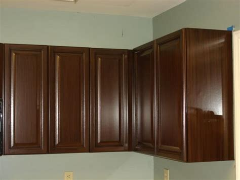 Kitchens With Dark Wood Cabinets by Brown Painted Kitchen Cabinets Your Dream Home