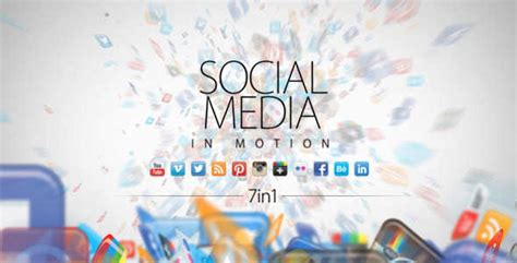 20 Social Media Inspired After Effects Templates Social Media After Effects Template Free
