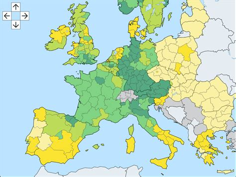 regionale europea europe personal income per capita by nuts2 region