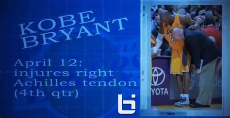 kobe bryant biography timeline kobe bryant video timeline from injury to contract extension