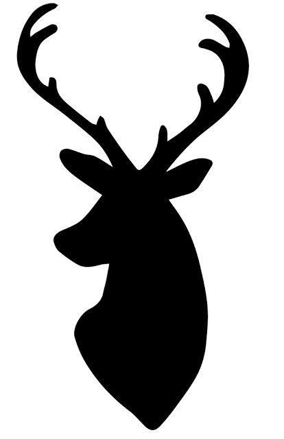 animal silhouette stencil reindeer silhouette stencil buck stencil my dear husband whipped up this deer head