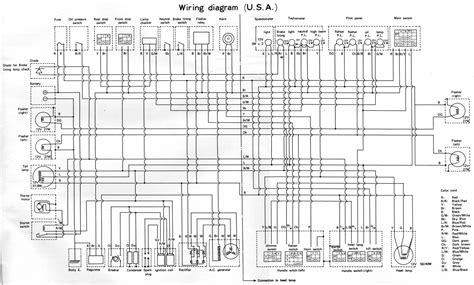 yamaha rd350 wiring diagram 58440 circuit and wiring