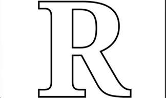 letter r coloring pages free script letter r coloring pages