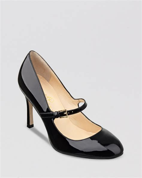 janes high heels ivanka pumps janna high heel in black lyst