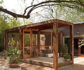 Backyard Rooms Ideas Ingenious Semi Free Standing Porch Could Easily Create A