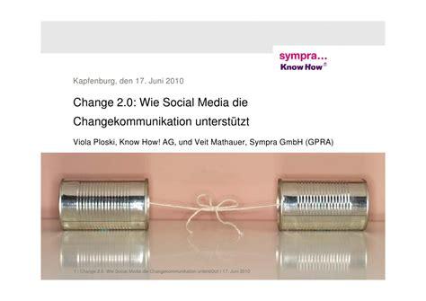 modification si鑒e social change 2 0 wie social media die changekommunikation ver 228 ndert