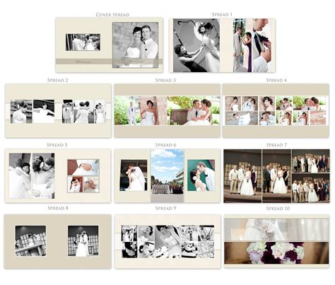 Photo Book Page Templates