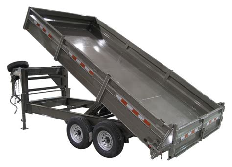 dump bed trailer dump bed trailers from delta