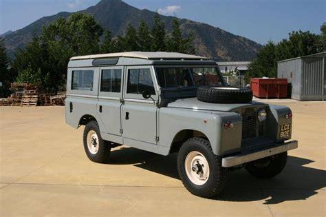 land rover safari for sale 1961 land rover 109 series 2 safari station wagon lease