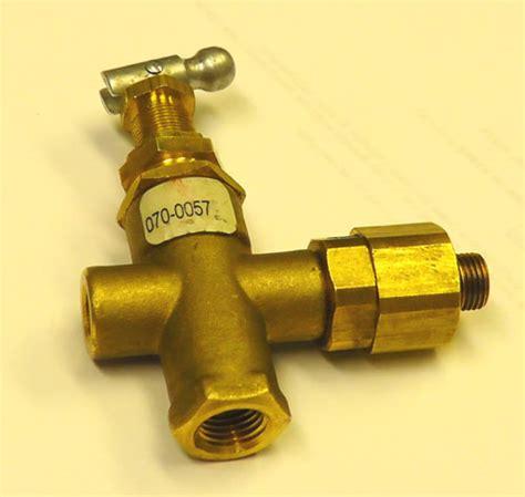 coleman powermate sanborn   pilotunloader valve master tool repair
