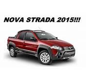 Fiat Strada 2015 Ganha Op&231&227o De Teto Solar El&233trico E Aumento