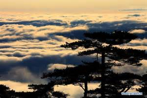 China anhui huangshan mountain cloud sea cn