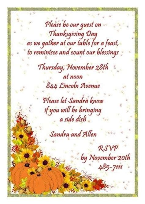 Thanksgiving Card To Employees Template by Best 37 Invitations Images On
