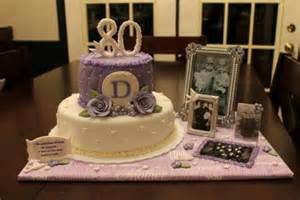 80th birthday party cake ideas