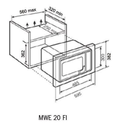 teka mwe 20 fi built in microwave